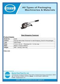Steel Strapping Tensioner S249