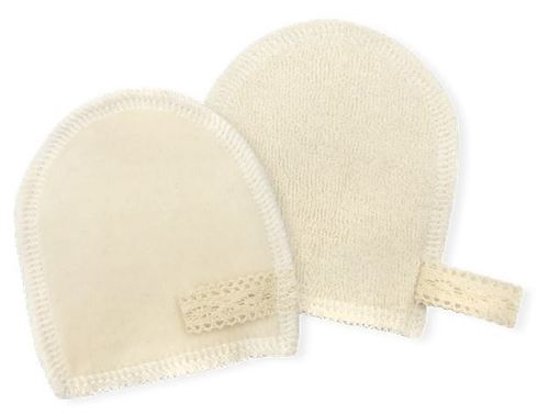 100% Organic Cotton Puff-Glove type