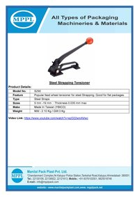 Steel Strapping Tensioner S290