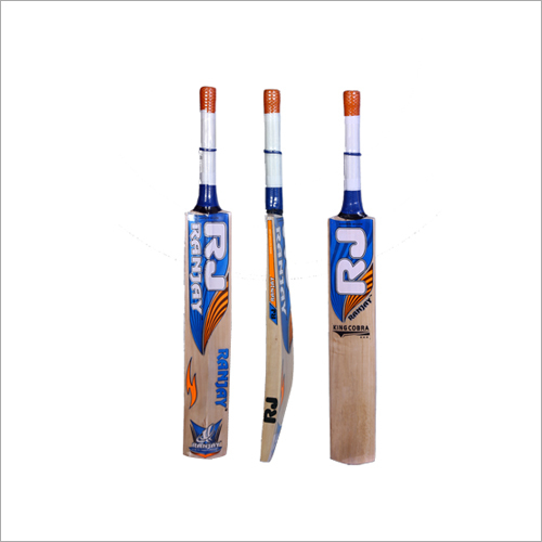RJ-KING COBRA Kashmiri Willow Cricket Bat
