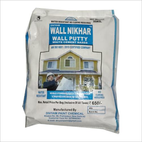 Wall Nikhar Wall Putty