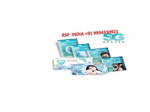 SG HEALTH 3 PLY FACE MASK