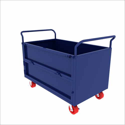 Heavy Duty Steel Material Handling Trolley