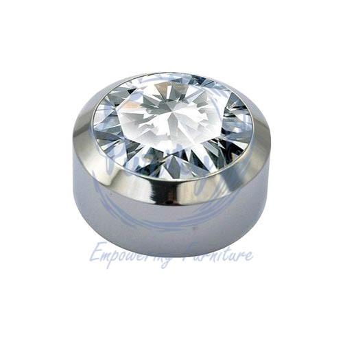 Aluminium Diamond Mirror Cap