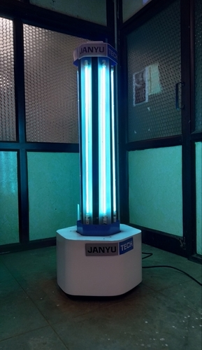 UVC Super Blaster Disinfection Robot