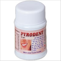 Pyrodent Medicated Tooth Powder