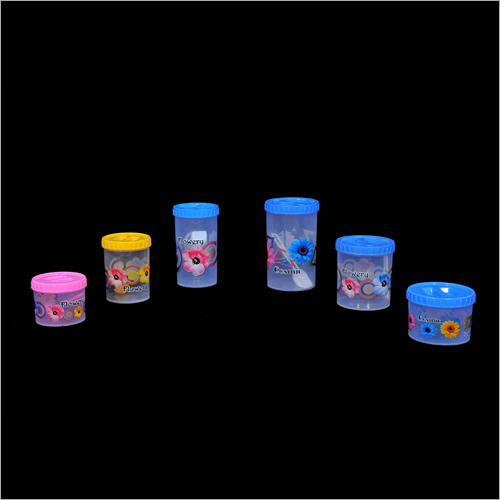Plastic Printed Container Set