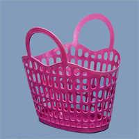 Plastic Fruit Basket With Handle