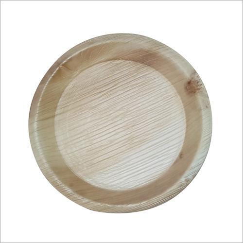 10 Inch Areca Leaf Deep Plate