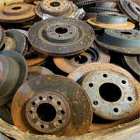 Cast Iron Rotor And Drum Scrap