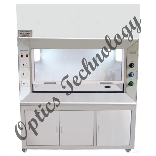 Double Walled S.S. Body With Base Storage Cabinet Fume Hood