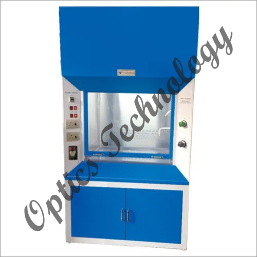 Double Walled M S Duly Powder Coated Body Fume Hood