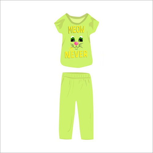 Kids T-Shirt With Pant Set