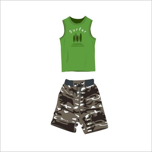 Kids T-Shirt With Shorts Set