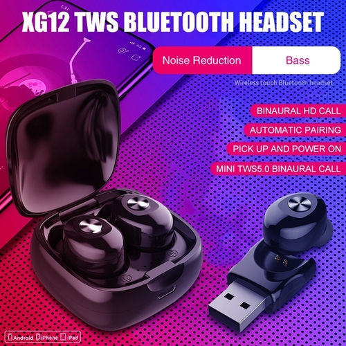 TWS Wireless Bluetooth Earphone XG12