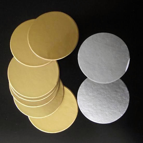 Golden And Silver Induction Seal For Pet Jars