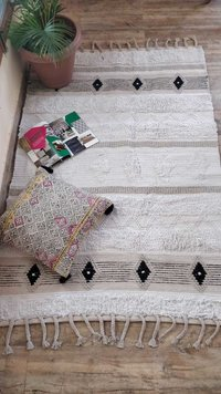 Beautiful Cotton Pile Rug