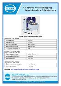 Spiral Stretch Wrapping Machine