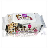 Pets Wet Wipes Non-Aocohol 80 Sheet (Multipurpose)
