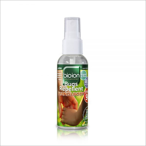 60 ml Bugs Repellent Hand and Body Water Based