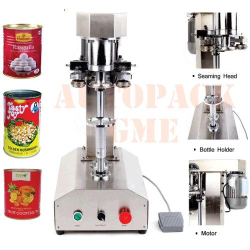 Semi Automatic Can Seamer / Can seaming machine
