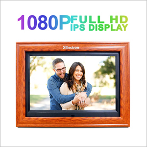 12 inch IPS Wooden Digital Photo Frame