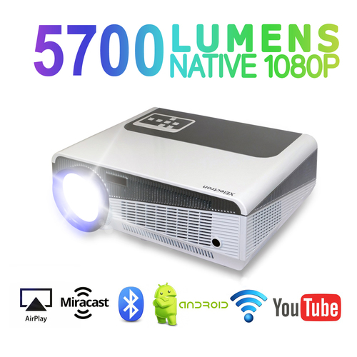 SM86+W Android Smart Wi-Fi HD LED Projector