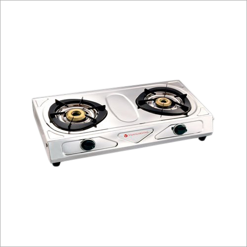 SS Classic Two Burner LPG Gas Stove