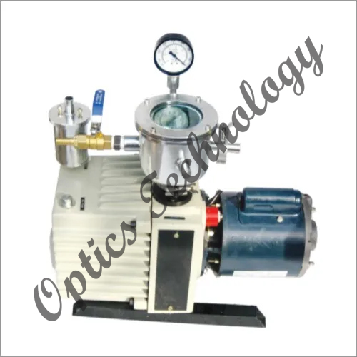 Vacuum Pump With All Optional Accessories