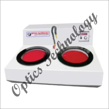 Double Disc Compact Table Top Model Polishing Machine