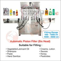 Disinfection Liquid, Gel Filling Machine 6 Head