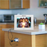 XElectron 8 Inch White IPS Display Digital Photo Frame