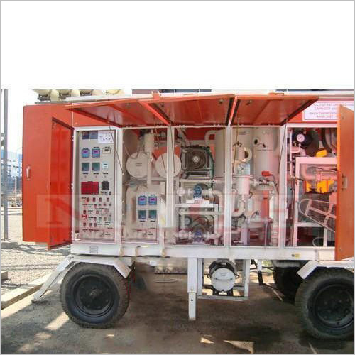 Two Wheeler Hydraulic Oil Filtration Machine
