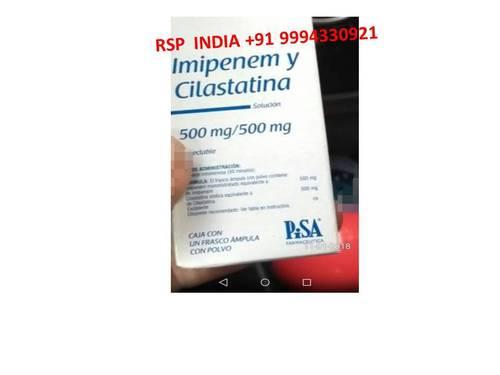 Imipenem Y Cilastina 500mg-500mg Solution