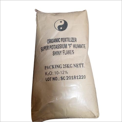 Potassium-F Humate Shiny Flakes bags