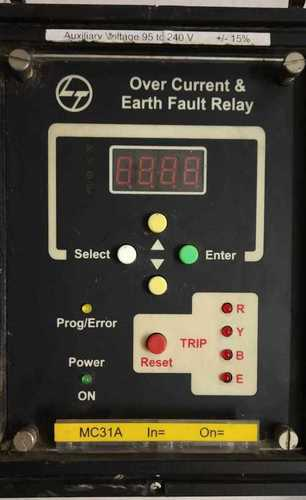 L&t Over Current & Earth Fault Relay  03118738