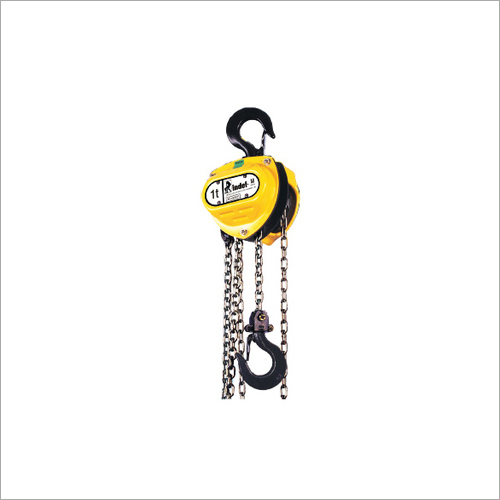 Mechanical Chain Pulley Blocks Hoist