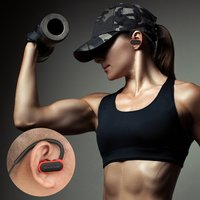 Wireless Earhook Bluetooth Headset AX-10