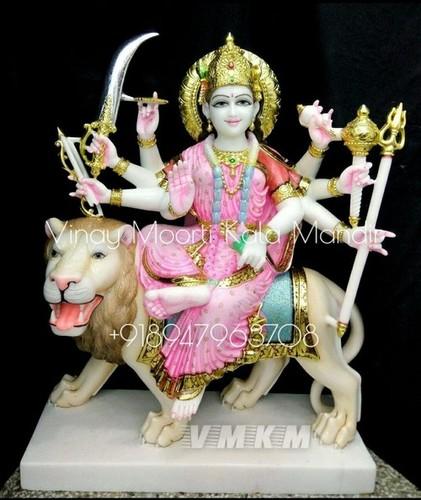 Maa Ambey Mata Marble Statue
