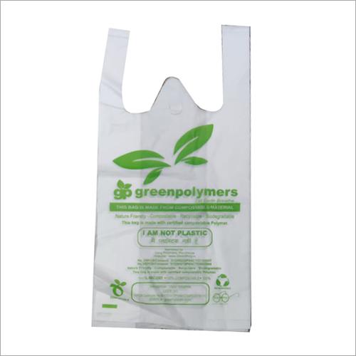 Printed Biodegradable Carry Bag