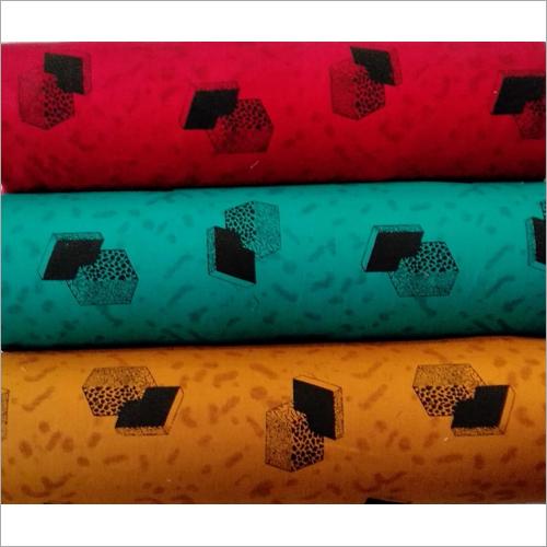 Printed Calivary Twill Prints Fabrics