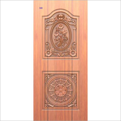 Designer Engraved Wooden Door