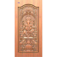 God Carved Laminated Door