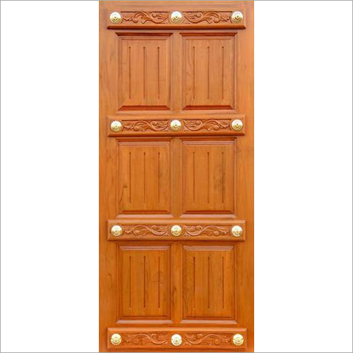 6 Panel Designer Wooden Door