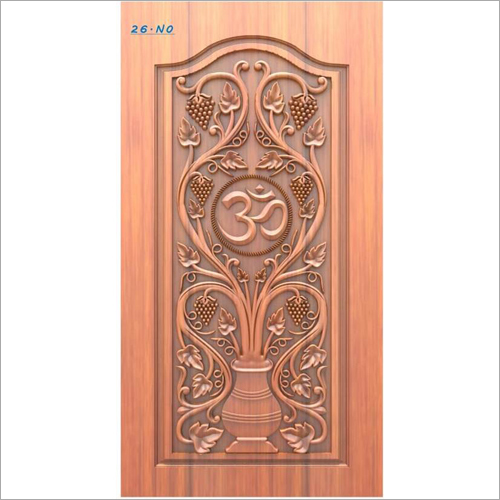 Wooden Bedroom Door