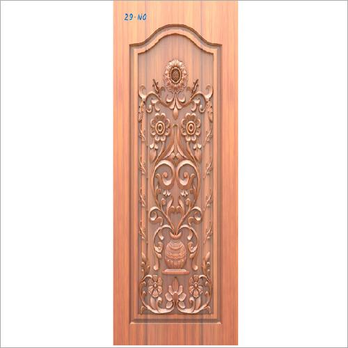 Wooden Entrance Door