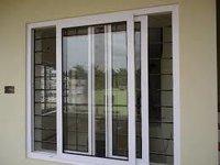 UPVC Vertical Sliding Windows