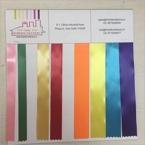 Narrow Woven Customized Ribbon