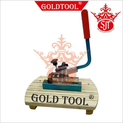 Gold Tool Wire And Strip Cutter Machine