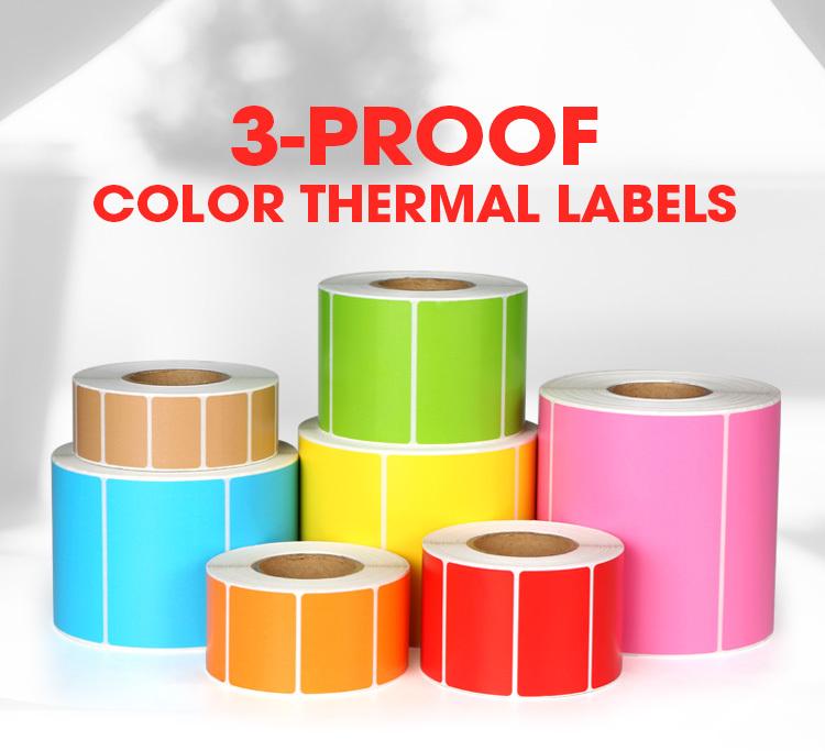 Multi Color Label